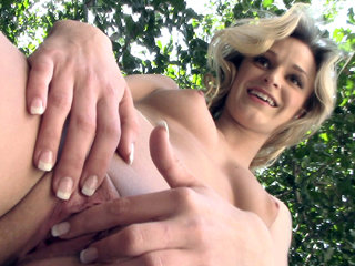Little blonde cutie Crissy Kay gets pounded for some quick cash